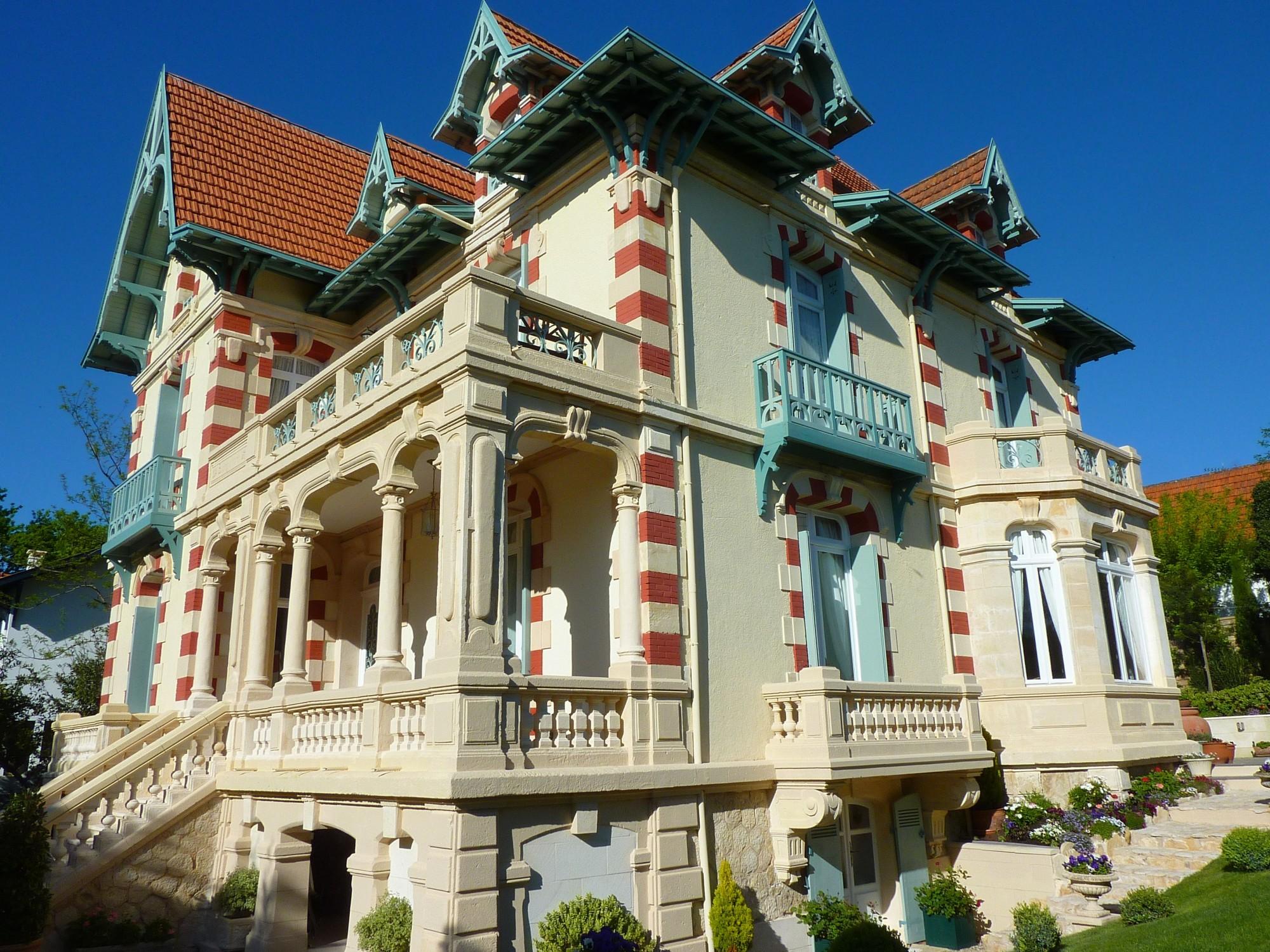 Arcachon ville d 39 hiver villa historique de prestige - Location maison piscine arcachon ...