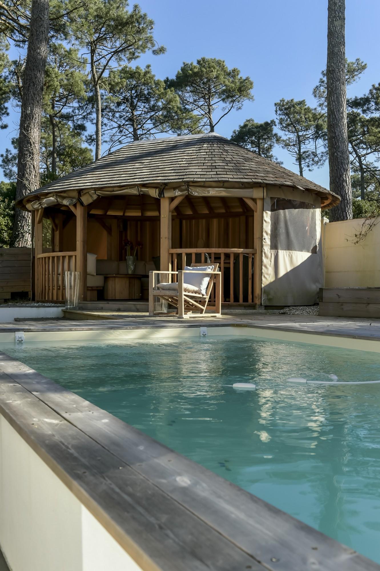 Pyla sur mer villa de plain pied avec piscine barnes - Camping bassin d arcachon avec piscine ...