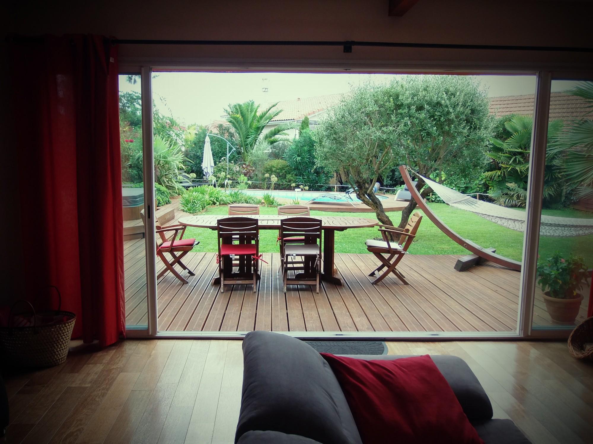 Arcachon quartier de l 39 aiguillon villa avec piscine - Maison bassin d arcachon a vendre paris ...