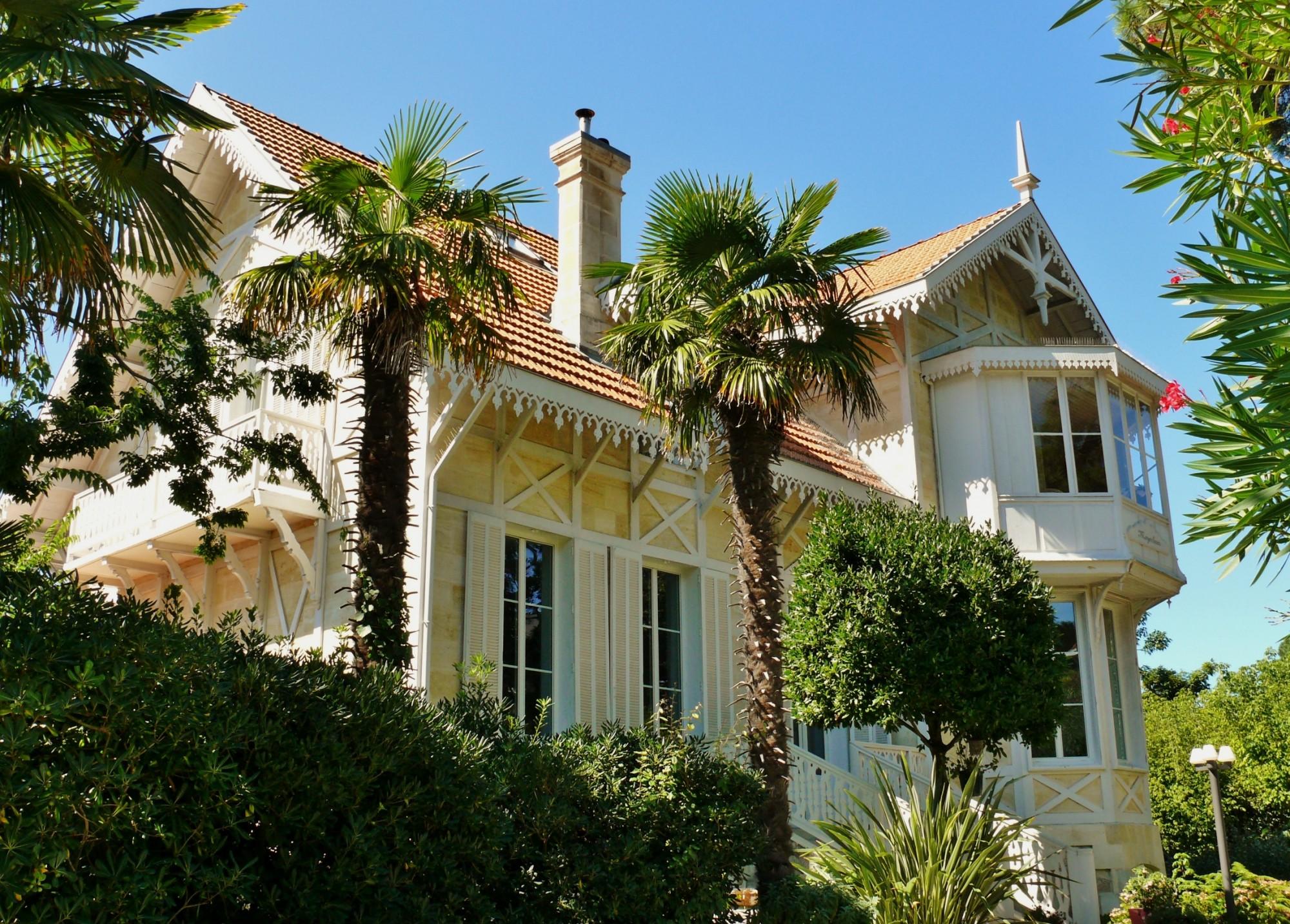 Ville dhiver arcachon magnifique villa barnes bassin d - Location maison piscine arcachon ...