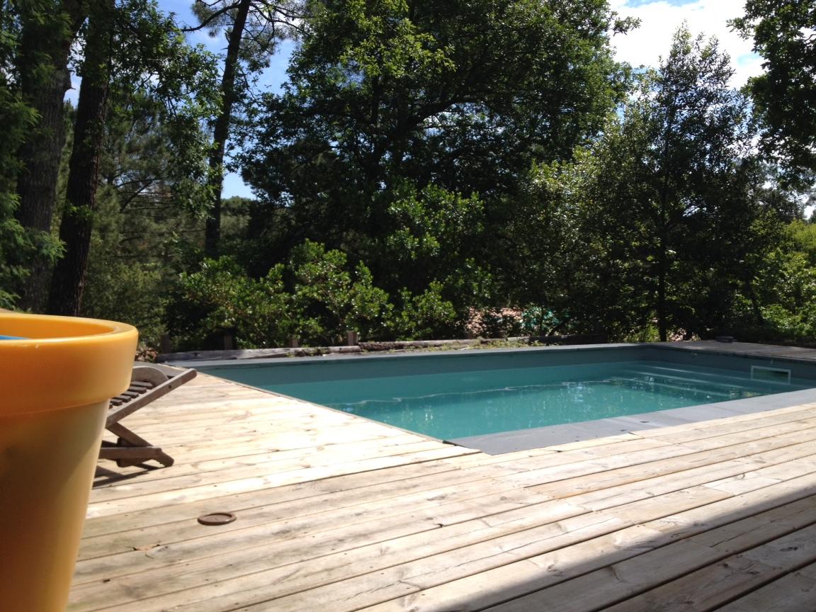 Vendu arcachon quartier des abatilles villa avec piscine - Location maison piscine arcachon ...