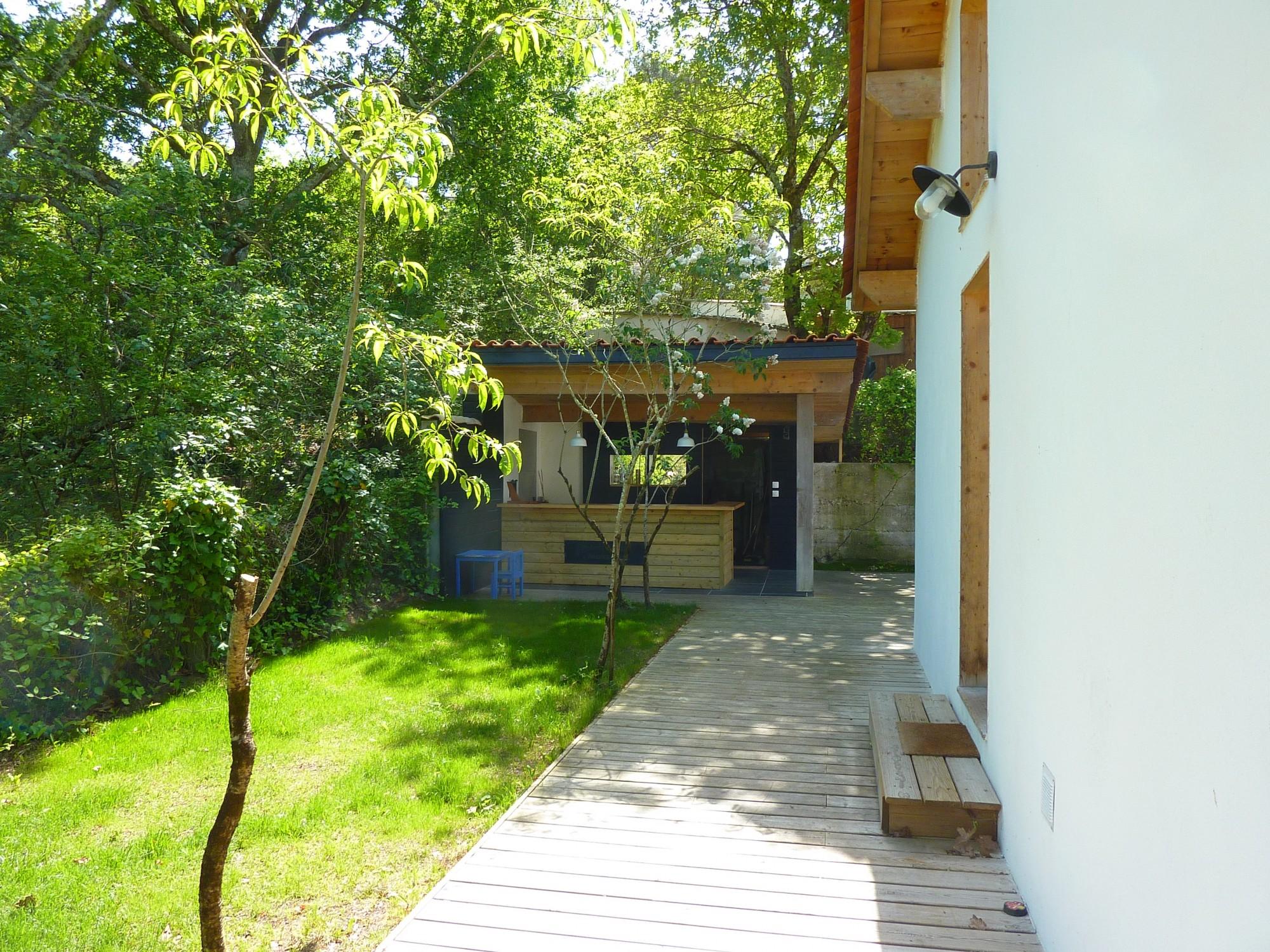 Vendu arcachon quartier des abatilles villa avec piscine - Camping bassin d arcachon avec piscine ...