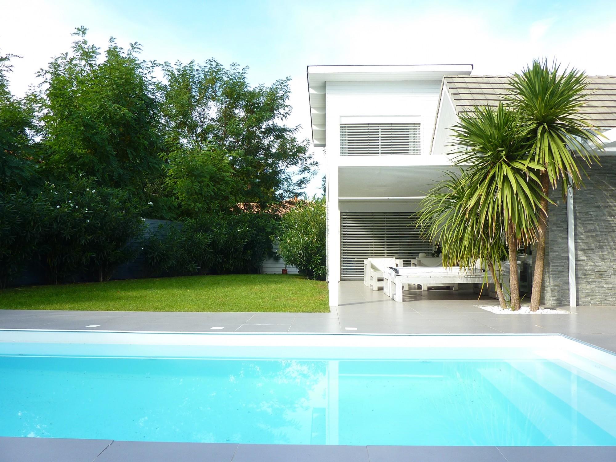 Vendu arcachon moulleau abatilles villa d 39 architecte - Chambre d hote bassin d arcachon avec piscine ...