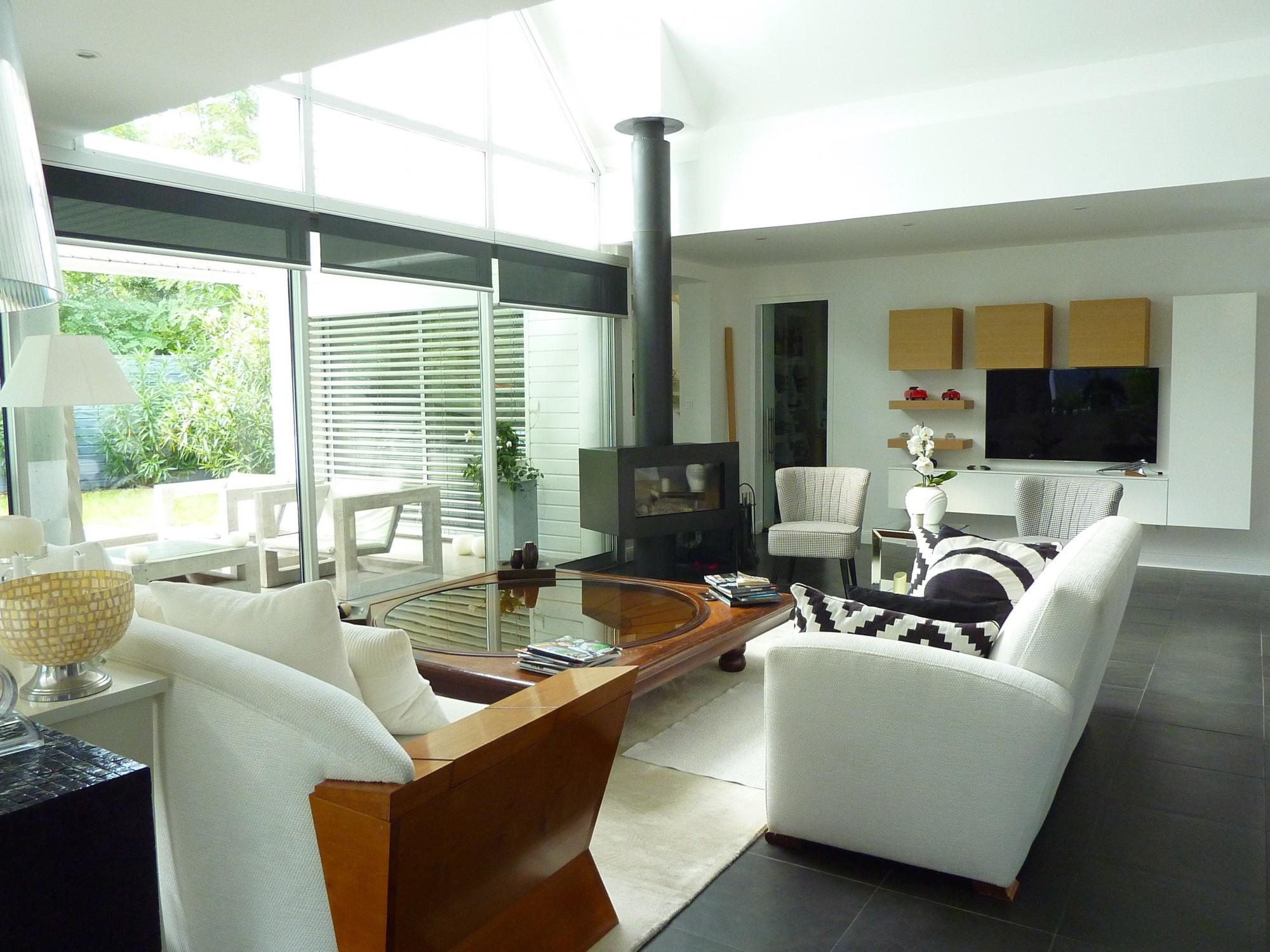 Arcachon moulleau abatilles villa d 39 architecte for Architecte arcachon