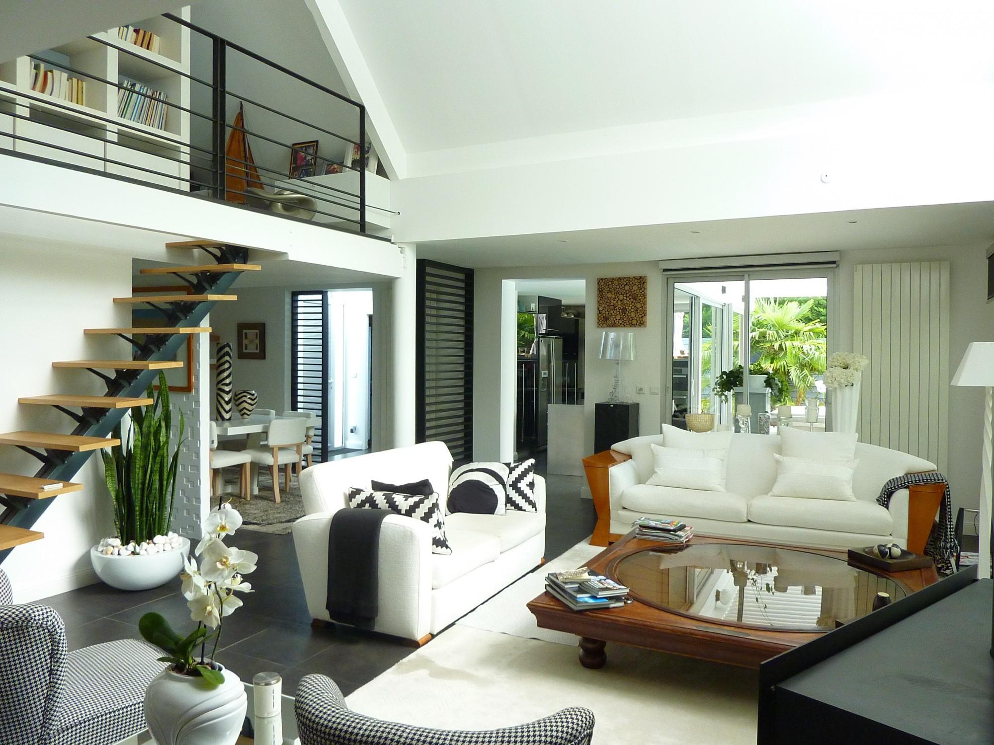 vendu arcachon moulleau abatilles villa d 39 architecte. Black Bedroom Furniture Sets. Home Design Ideas