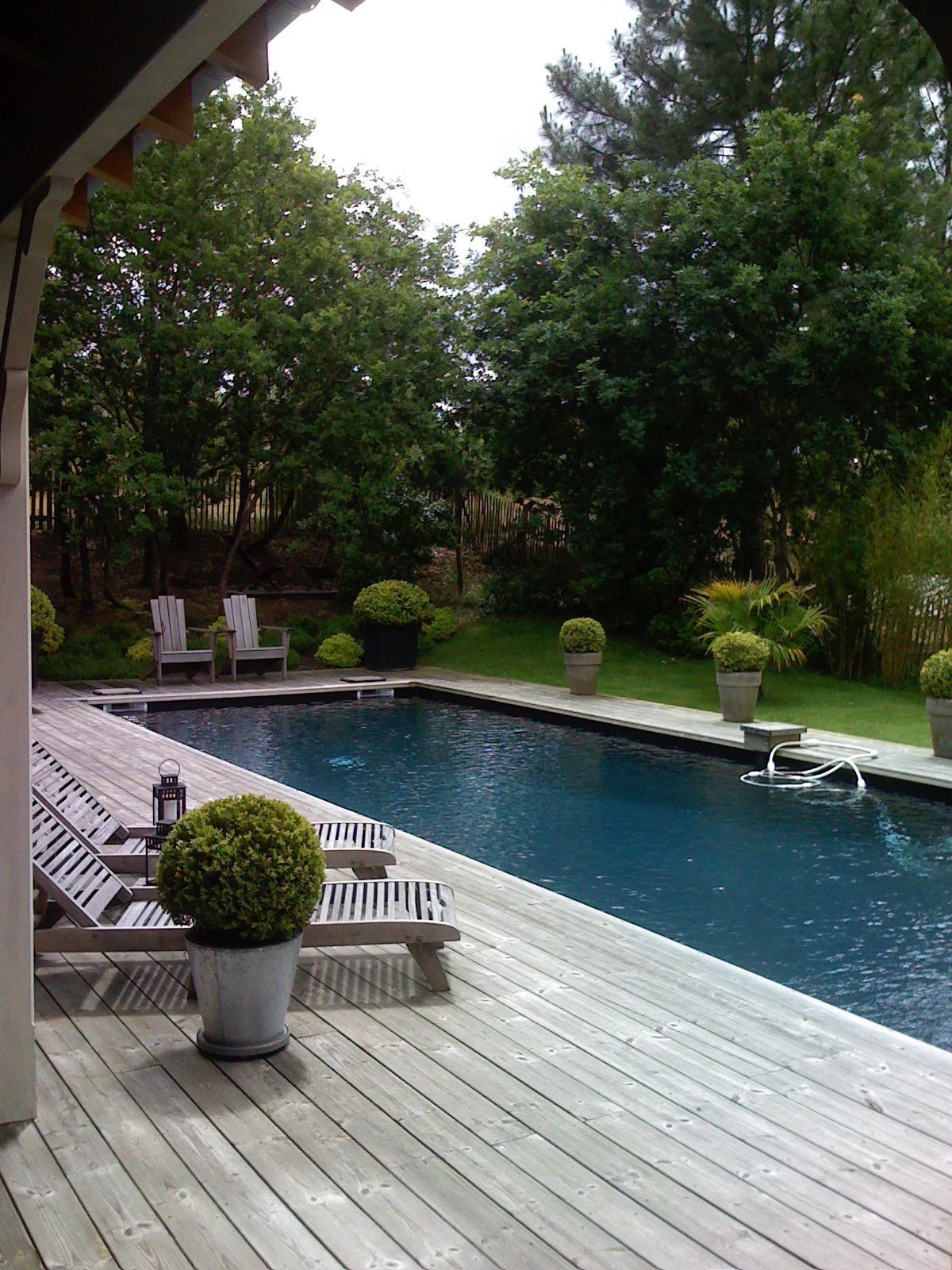 A proximit du pyla magnifique villa en bois avec piscine barnes bassin d 39 arcachon - Maison bassin d arcachon location nice ...