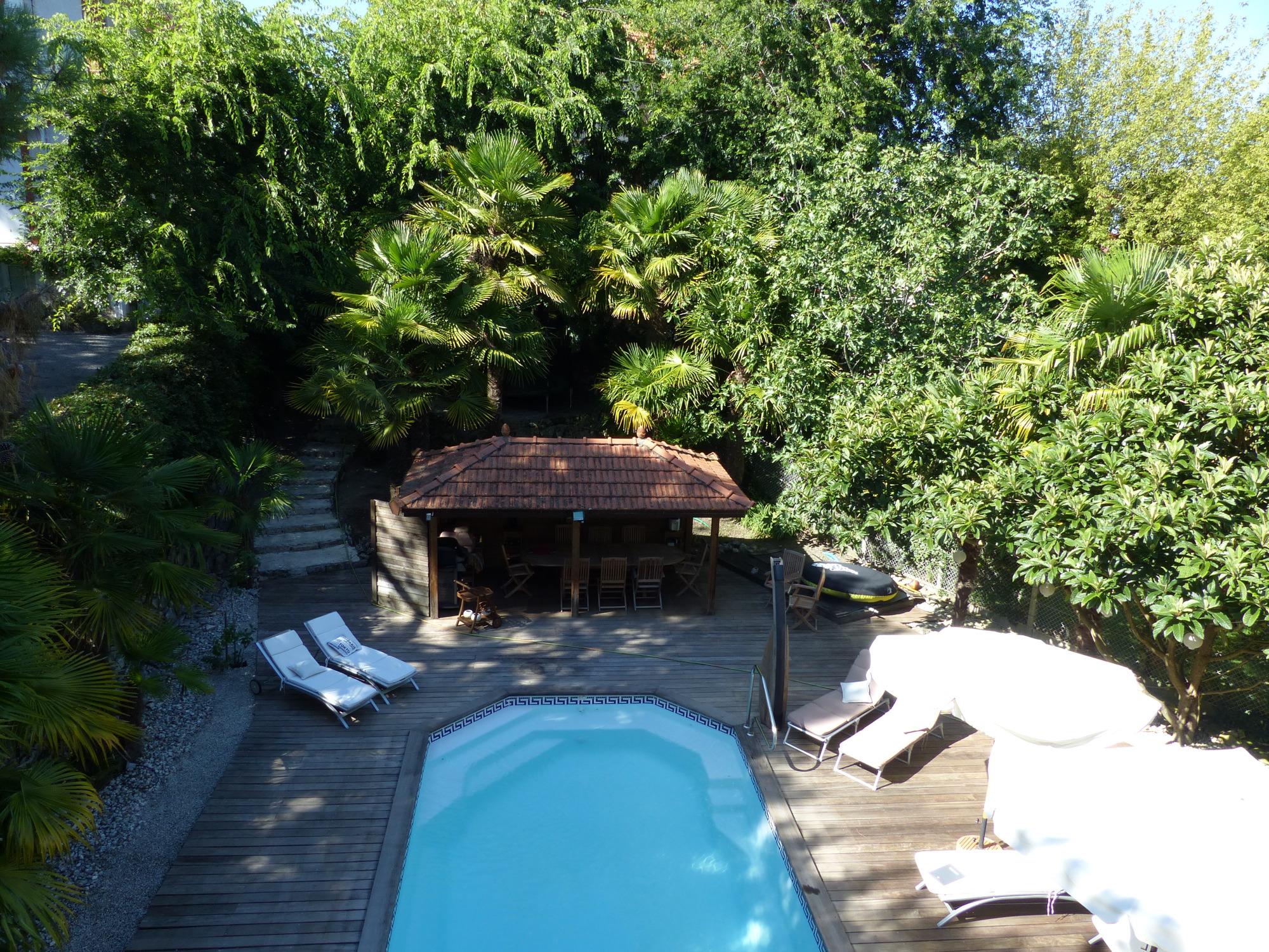 Vente arcachon belle demeure avec piscine barnes bassin - Location maison piscine arcachon ...