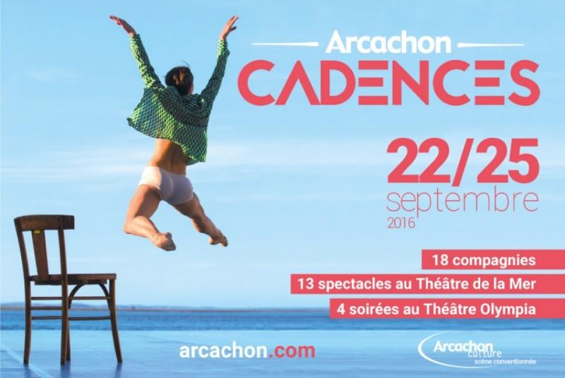 BARNES PYLA SUR MER VOUS RECOMMANDE LE FESTIVAL CADENCES D'ARCACHON