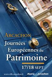 LES JOURNÉES EUROPÉENNES DU PATRIMOINE À ARCACHON