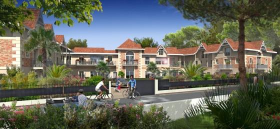 Un programme immobilier neuf et de qualité à Arcachon, quartier résidentiel