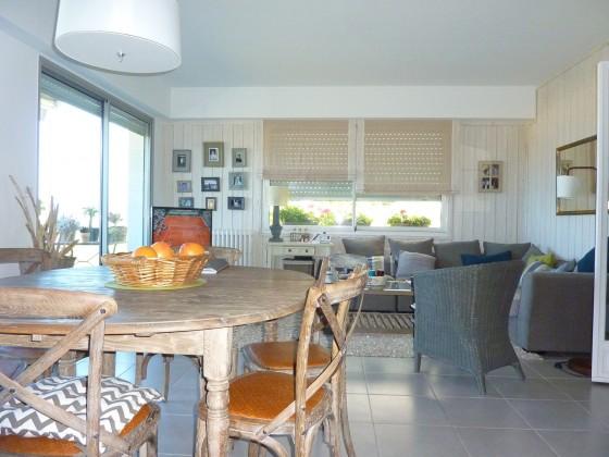 Arcachon, bel appartement de 100 m2, situation exceptionnelle en bord de mer et accès direct à la plage d'Arcachon