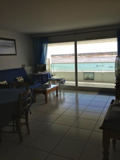 Arcachon, appartement vue mer avec 2 suites, terrasse et grand garage