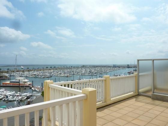 Appartement 2 pièces avec terrasse vue mer à vendre Arcachon
