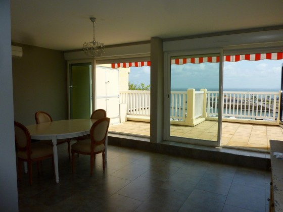 Ce superbe appartement de 48 m2 face à la mer est un achat idéal pour un pied à terre à Arcachon