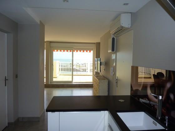 Appartement à acheter de 48 m2 à l'état exceptionnel, vue mer et grande terrasse idéal pied à terre à Arcachon