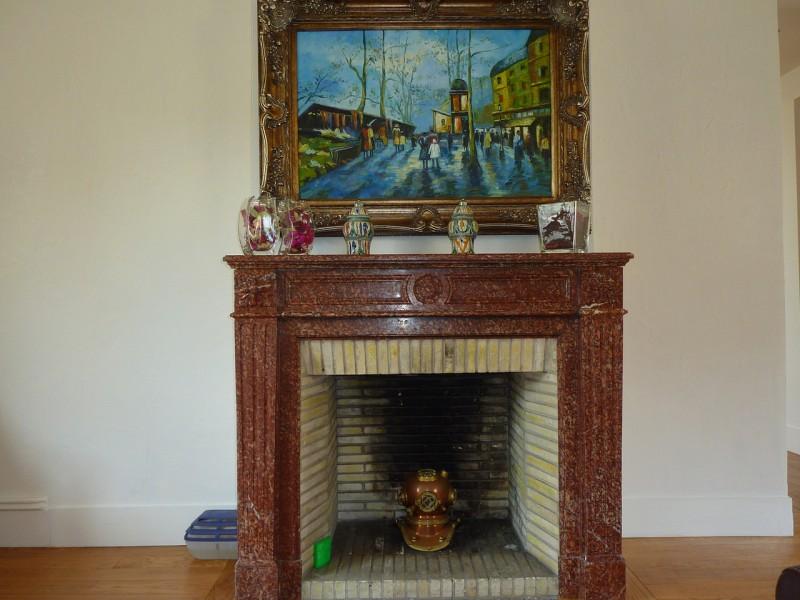 Appartement de prestige à vendre dans belle résidence à ARCACHON CENTRE et près de la mer - 3 chambres, séjour et salon avec cheminée