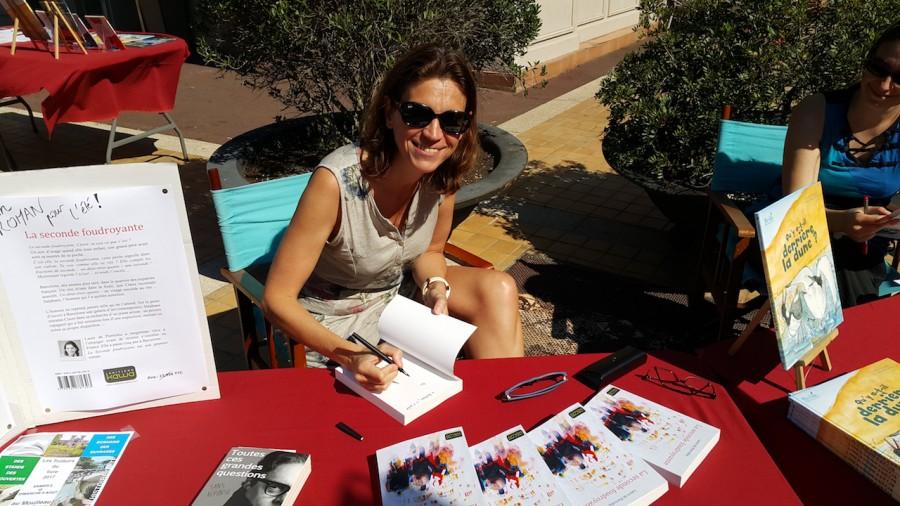 une pylataise publie son premier roman