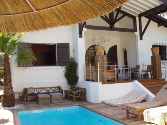 Deux jolies villas à louer avec piscine et à quelques mètres de la plage PYLA SUR MER 33115