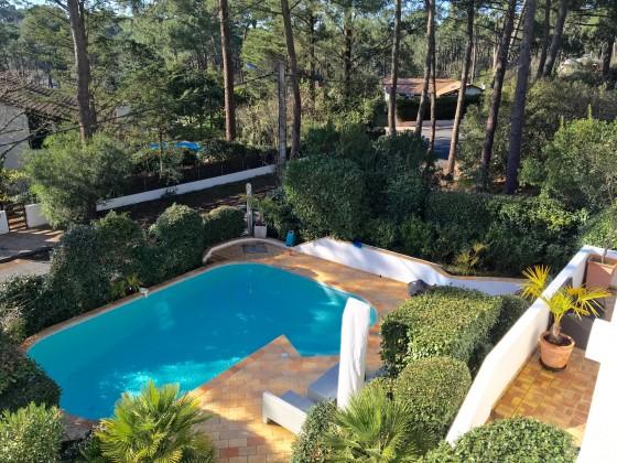Belle villa contemporaine avec piscine à vendre au Pyla Bassin d'Arcachon
