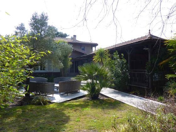 a vendre maison au Cap ferret bardée de bois