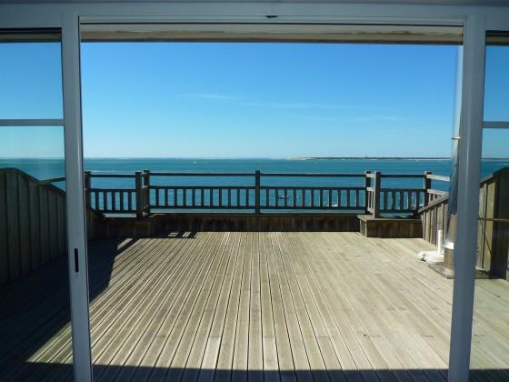 À vendre EN PREMIÈRE LIGNE, Pyla sur mer, Villa en bois avec terrasses et deck vue mer, Cap Ferret et Dune du Pilat, architecture dans l'esprit Bassin