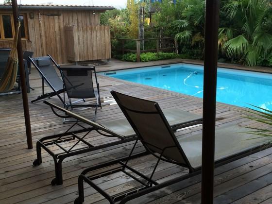 A vendre port de la teste villa bois avec piscine barnes for Velo piscine occasion