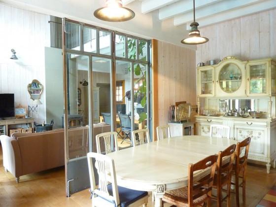 Belle villa bois avec prestations de qualité quartier résidentiel Bassin d'Arcachon