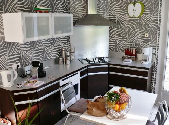 À vendre secteur Péreire jolie villa de plain pied avec cuisine équipée, séjour double, 3 chambres 33120 Arcachon