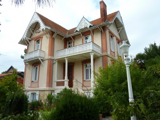 VILLE D'HIVER, Villa de prestige à vendre quartier historique d'Arcachon