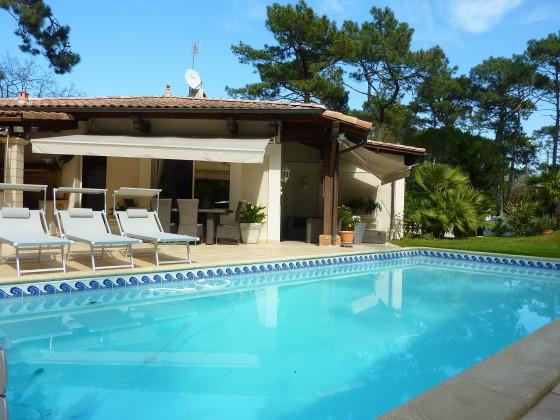 Recherche Villa 4 chambres avec piscine, jardin, PYLA SUR MER